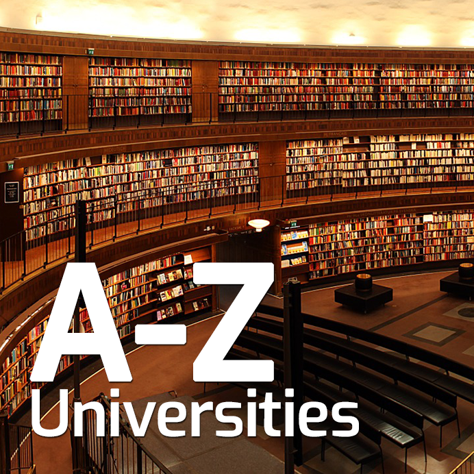 A-Z List of UK Universities