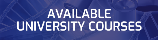 List of Available Universitu Courses and Subjects for September 2019 intake