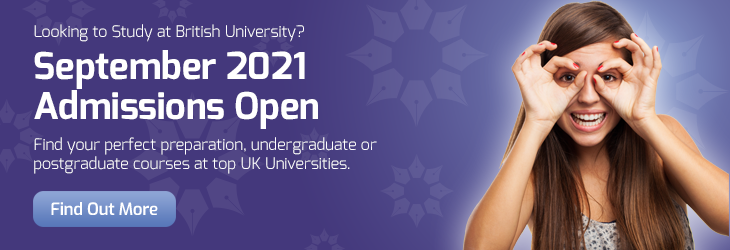 University Courses Starting in September 2020